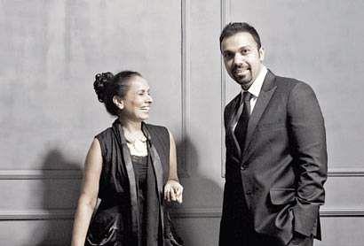 Shobhna and Kunal Mehta