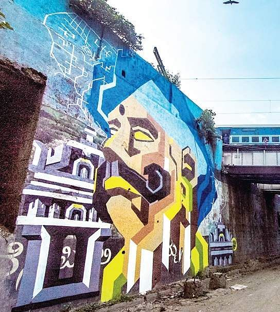 Take a slow cycling trip through street art- The New