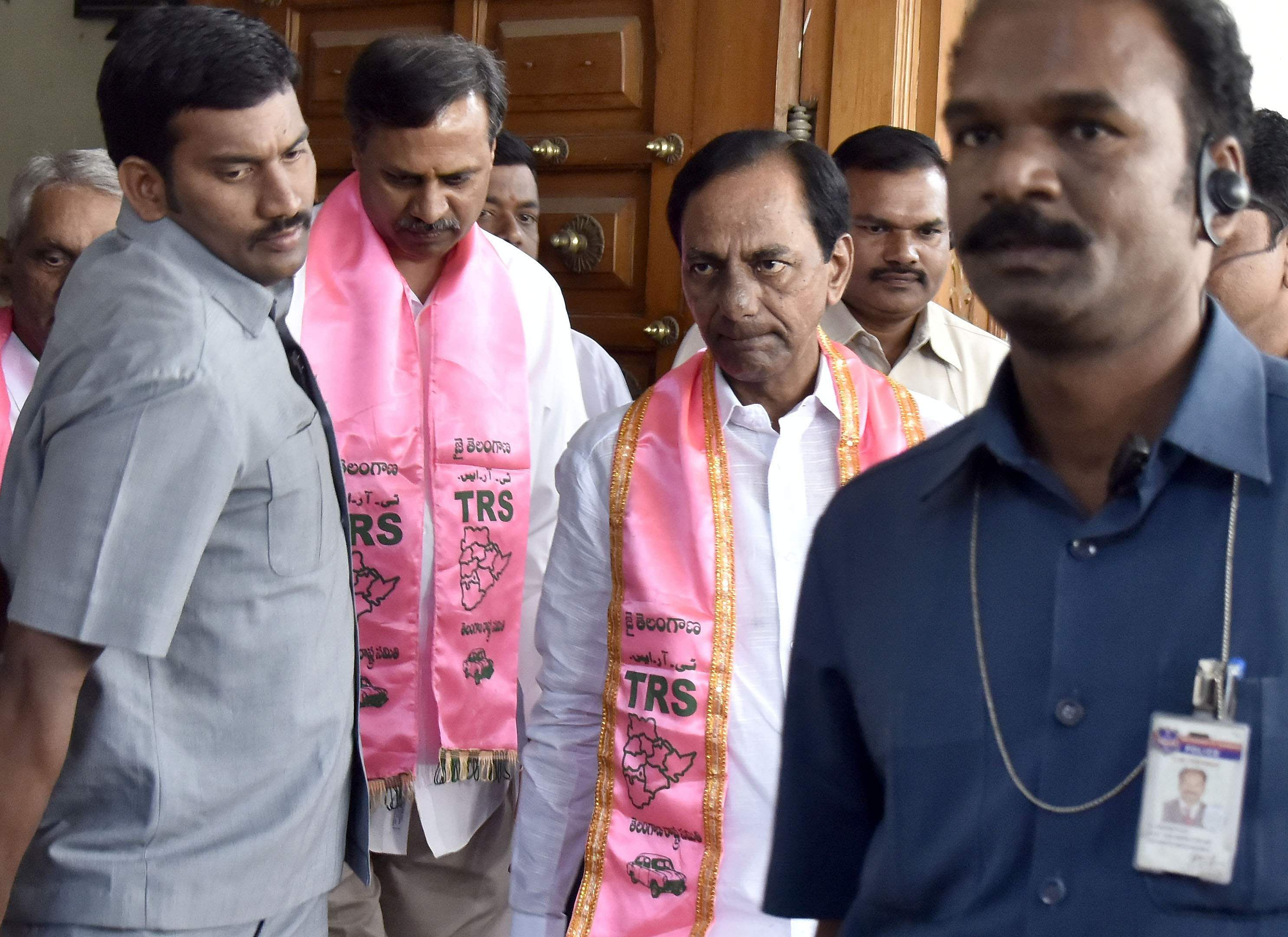 Nine Congress MLAs, two TDP suspended from Telangana Assembly