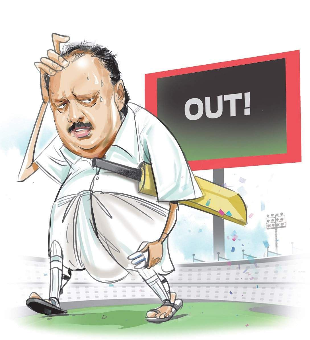 Judgment out; nothing in favour of Thomas Chandy