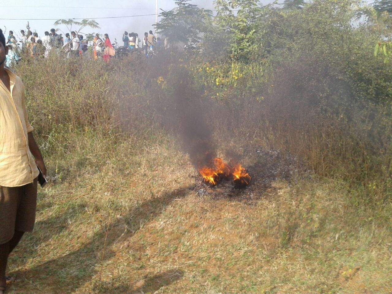 Military trainer aircraft crashes in southern India, pilot ejects safely