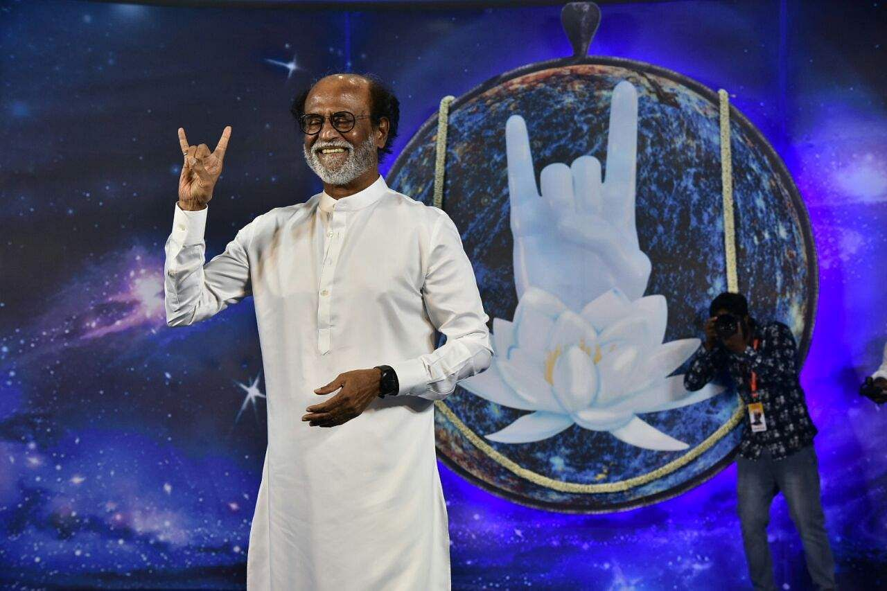 Tamil film star Rajinikanth to enter politics
