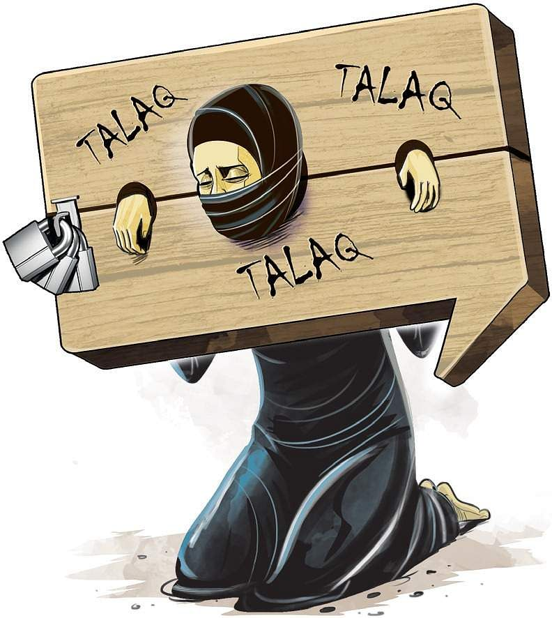 Image result for Triple Talaq CARTOON JUSTICE
