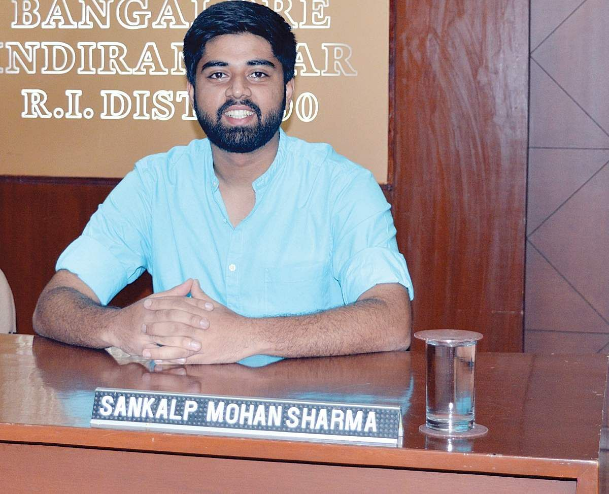 B'luru boy flying off to a sustainable future in UN- The New