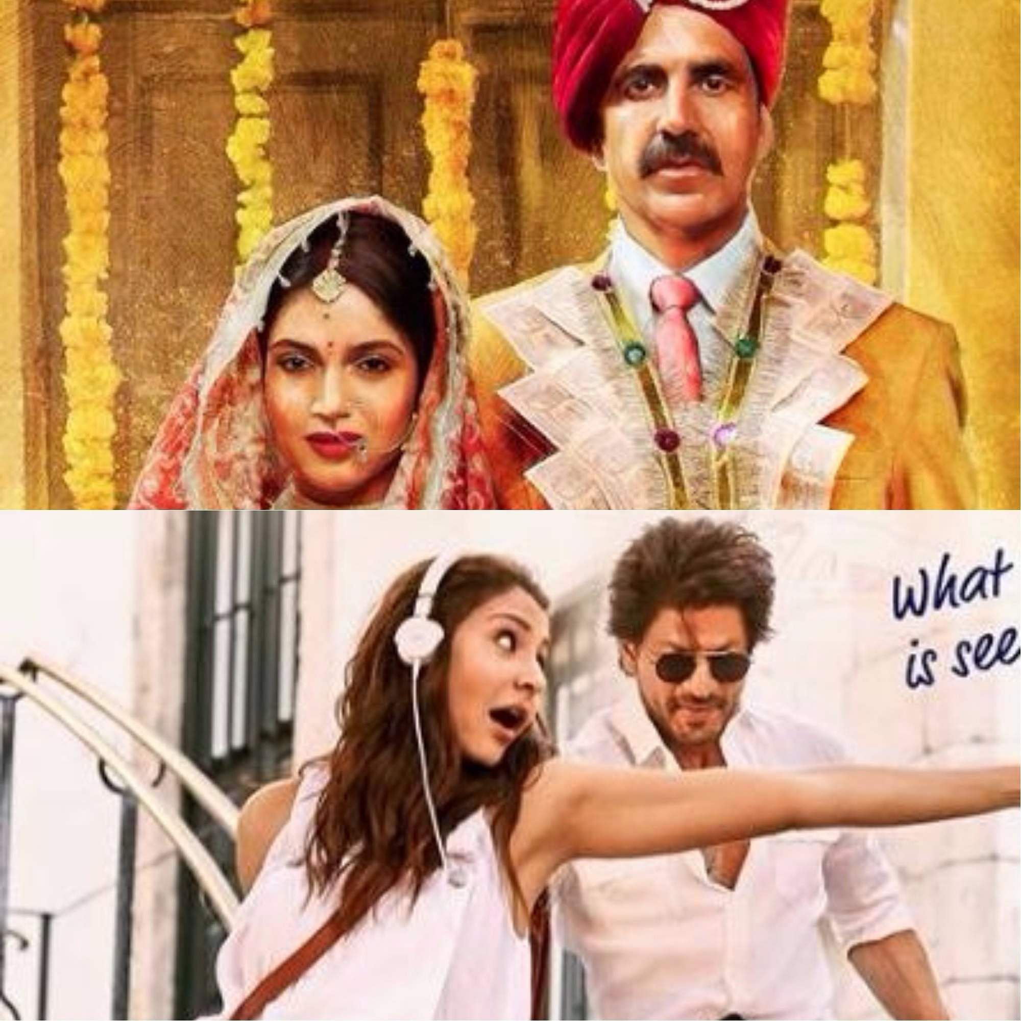 Toilet Ek Prem Katha and Jab Harry Met Sejal