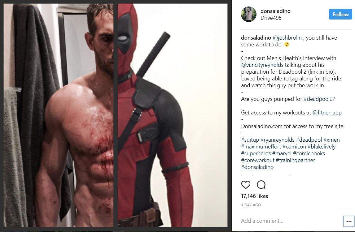 Ryan Reynolds Debuts First Pictures of Deadpool 2 Co-Star 'Cable'