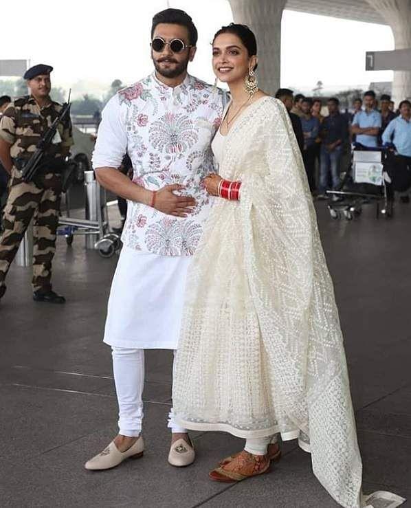 Deepika Padukone Ranveer Singh Head To Bengaluru For Wedding