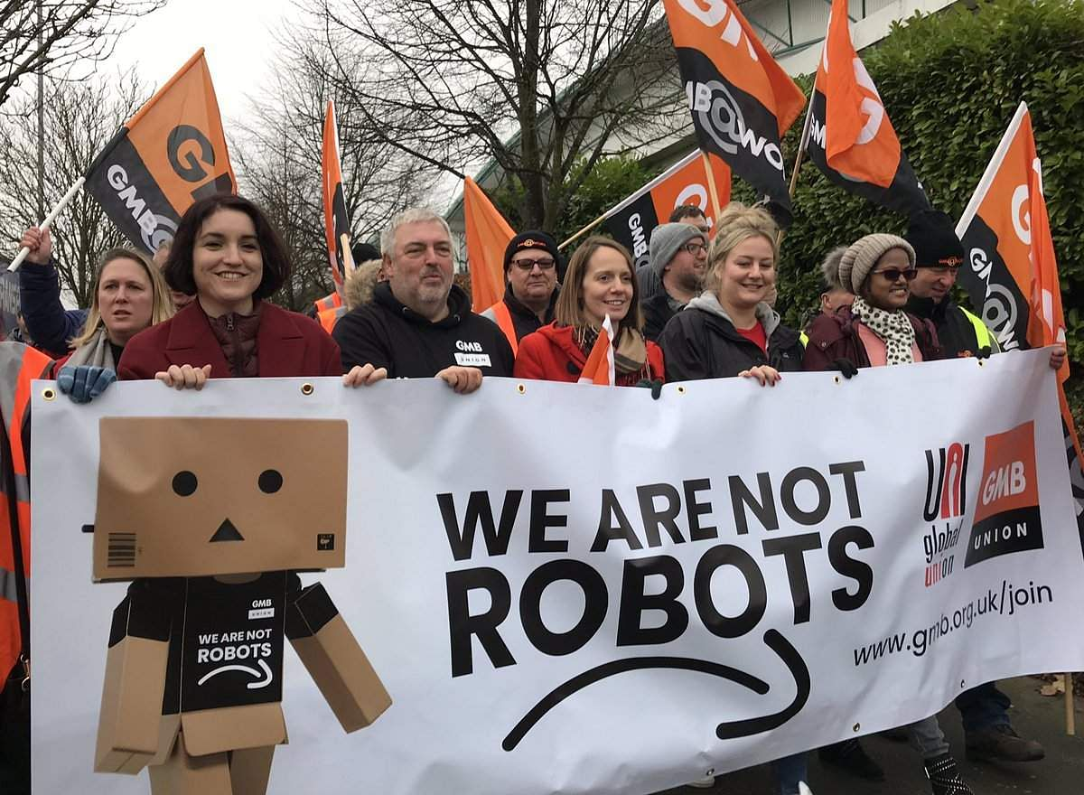 black friday amazon employees in europe go on strike to protest working conditions the new. Black Bedroom Furniture Sets. Home Design Ideas