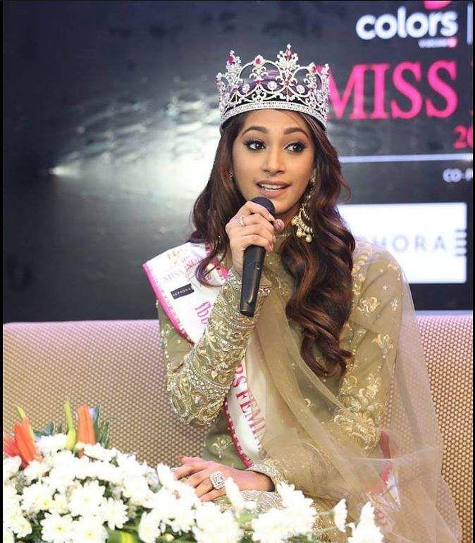 55th Femina Miss India World 2018 winner is Anukreethy Vas from Tamil Nadu
