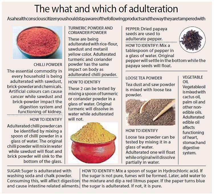 adulteration in hindi