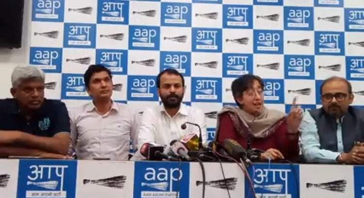 Employees association demands action against AAP MLAs