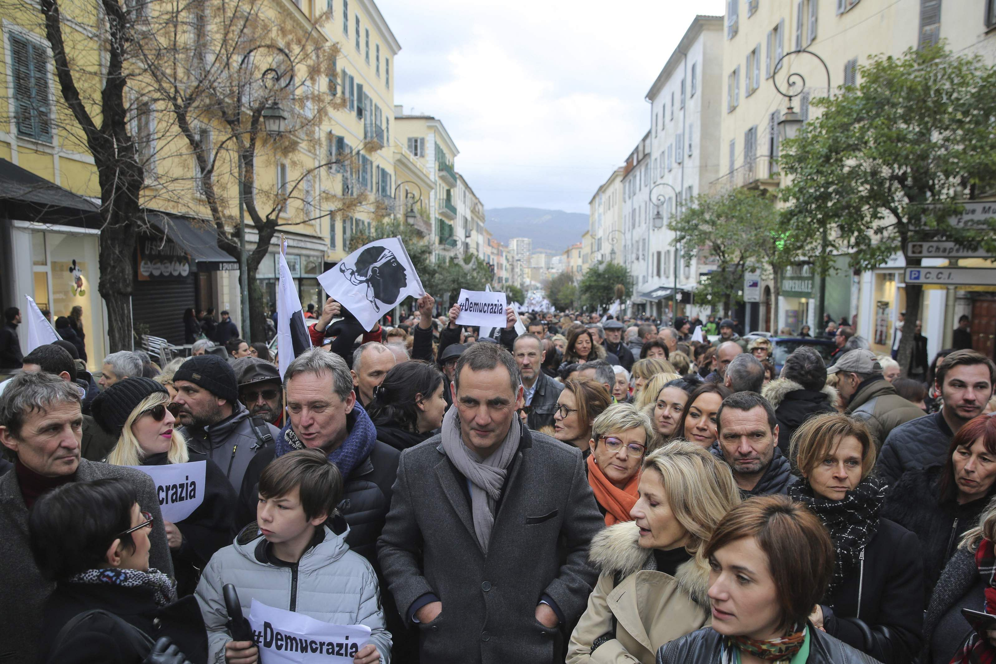 Thousands of Corsicans Demanded Greater Autonomy from France