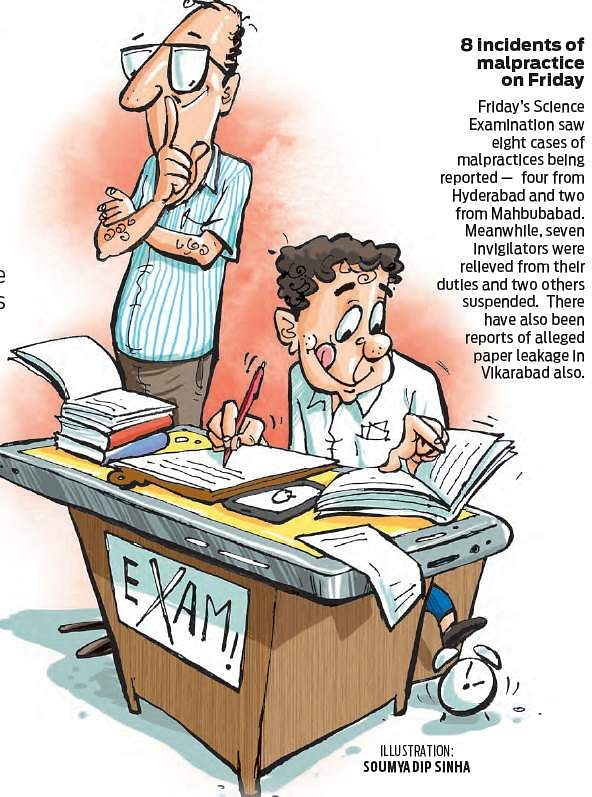 Telangana: Five question papers leaked, 16 teachers booked in eight