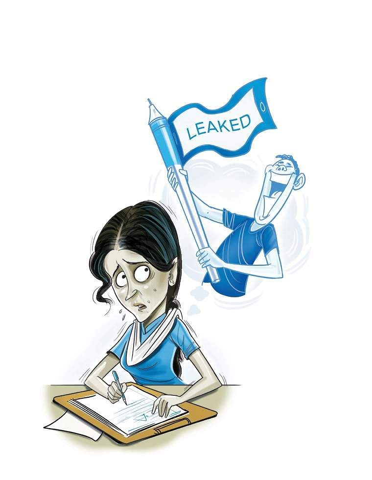 Question paper leak: Students left dejected as CBSE to re