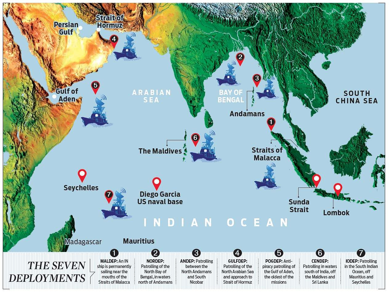 Alphabet soup\' of Navy missions dots Indian Ocean- The New Indian ...