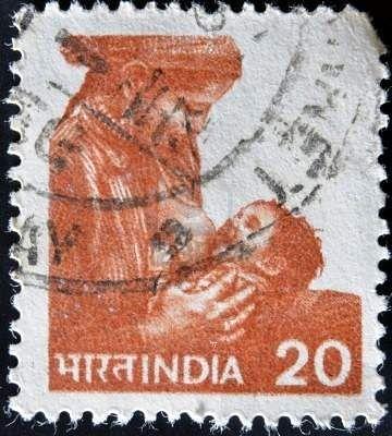 Image result for india breastfeeding postal stamp