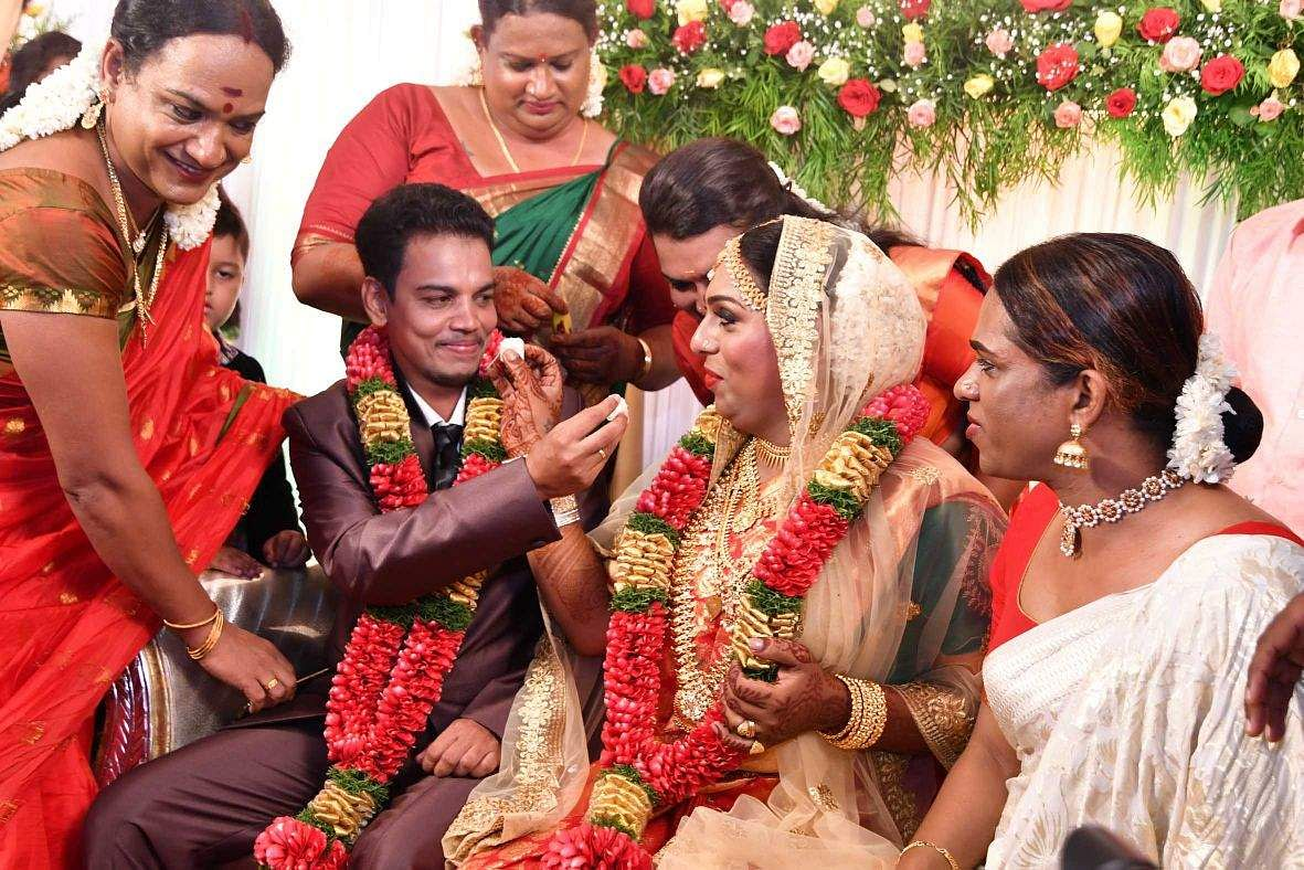Trans couple ties the knot in Thiruvananthapuram, creates history
