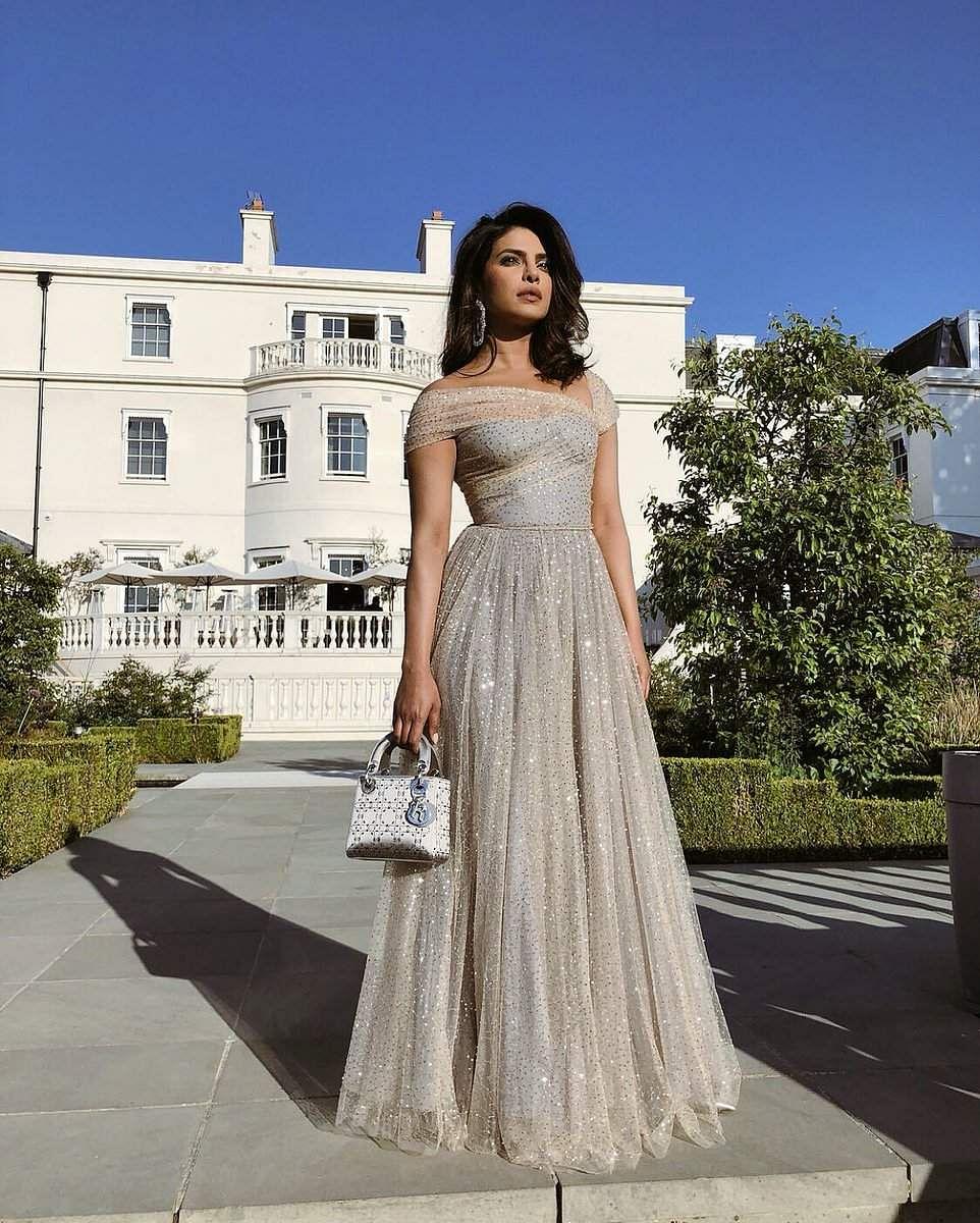Priyanka Chopra Looks Like A Dream In Golden Dior At