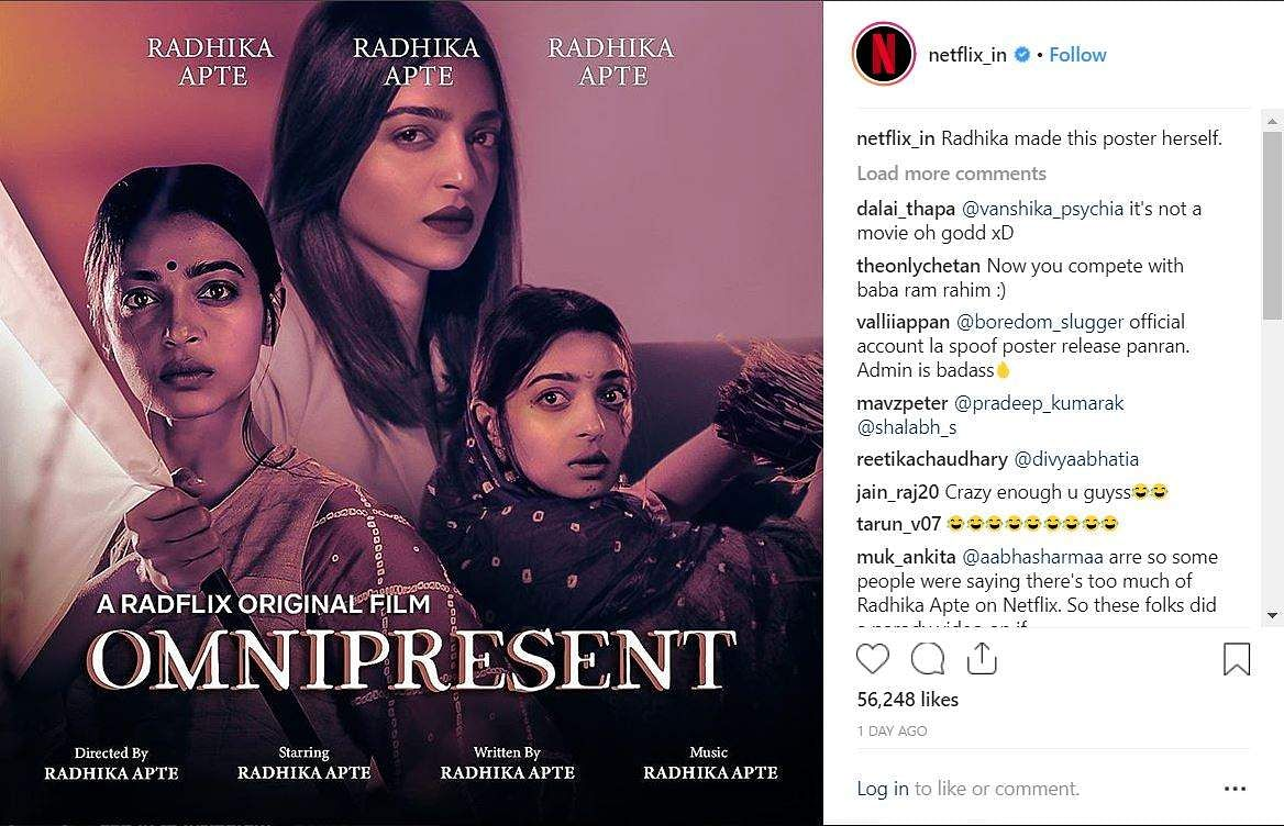 Netflix India joins fans to royally troll 'Omnipresent