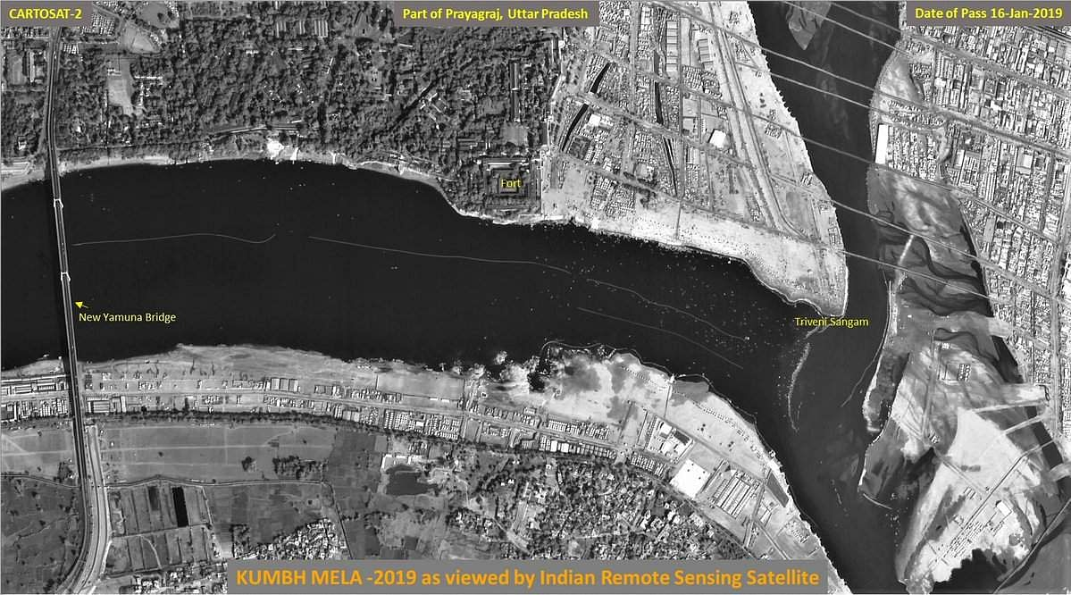ISRO releases satellite images of world's largest religious