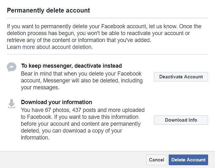 Want to delete your Facebook account? Follow these simple steps- The