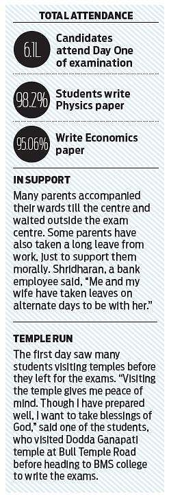 PU exam commences, two 'cheating' cases reported- The New