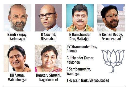 BJP names 10 candidates, Aruna gets Mahbubnagar- The New