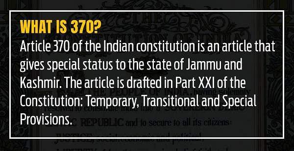 Bill seeking to bifurcate Jammu & Kashmir passed in Rajya Sabha- The