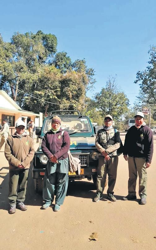 Women guiding lights on MP tiger trails