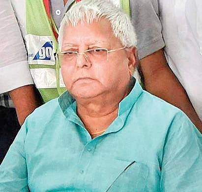 After over 3 years, RJD chief Lalu Prasad makes partial return to active politics