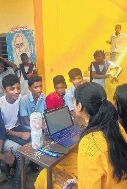Hyderabad teens help underprivileged kids access mental health- The New Indian Express, the vie