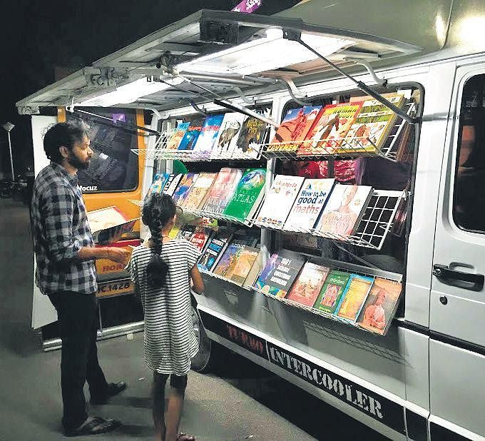 This Hyderabadmobile book store is every voracious reader's dream come true- The New Indian Express, the vie