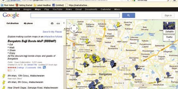 Bangalore-Bajji-Bonda-Map