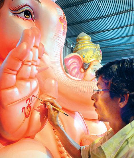 Ganesha-idol