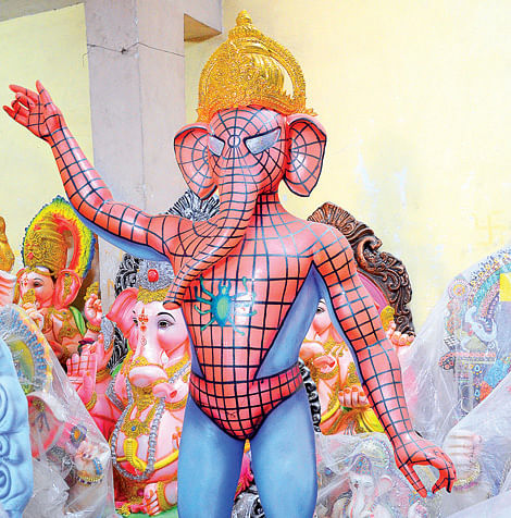 Spiderman-Ganesha