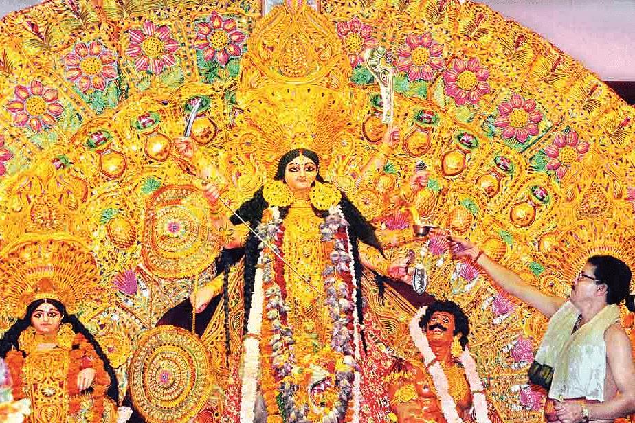 Sri-Durga-puja