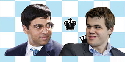 Anand Carlsen Face-off