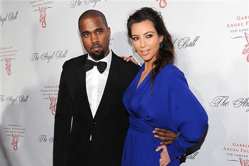 Kim with Kanye West_AP