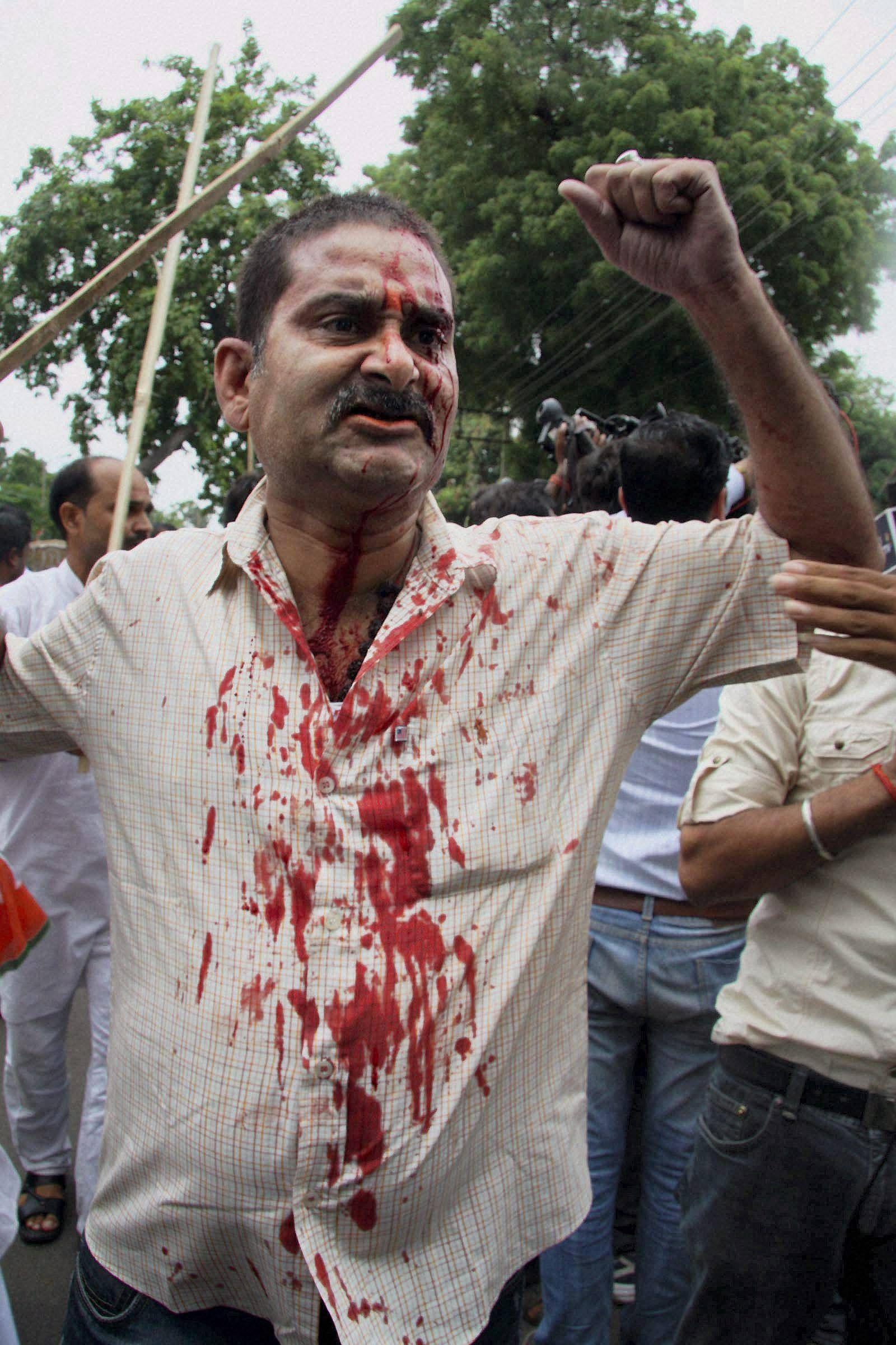 JD(U)_BJP_Clash_PTI