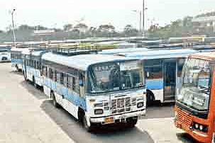 APSRTC-buses