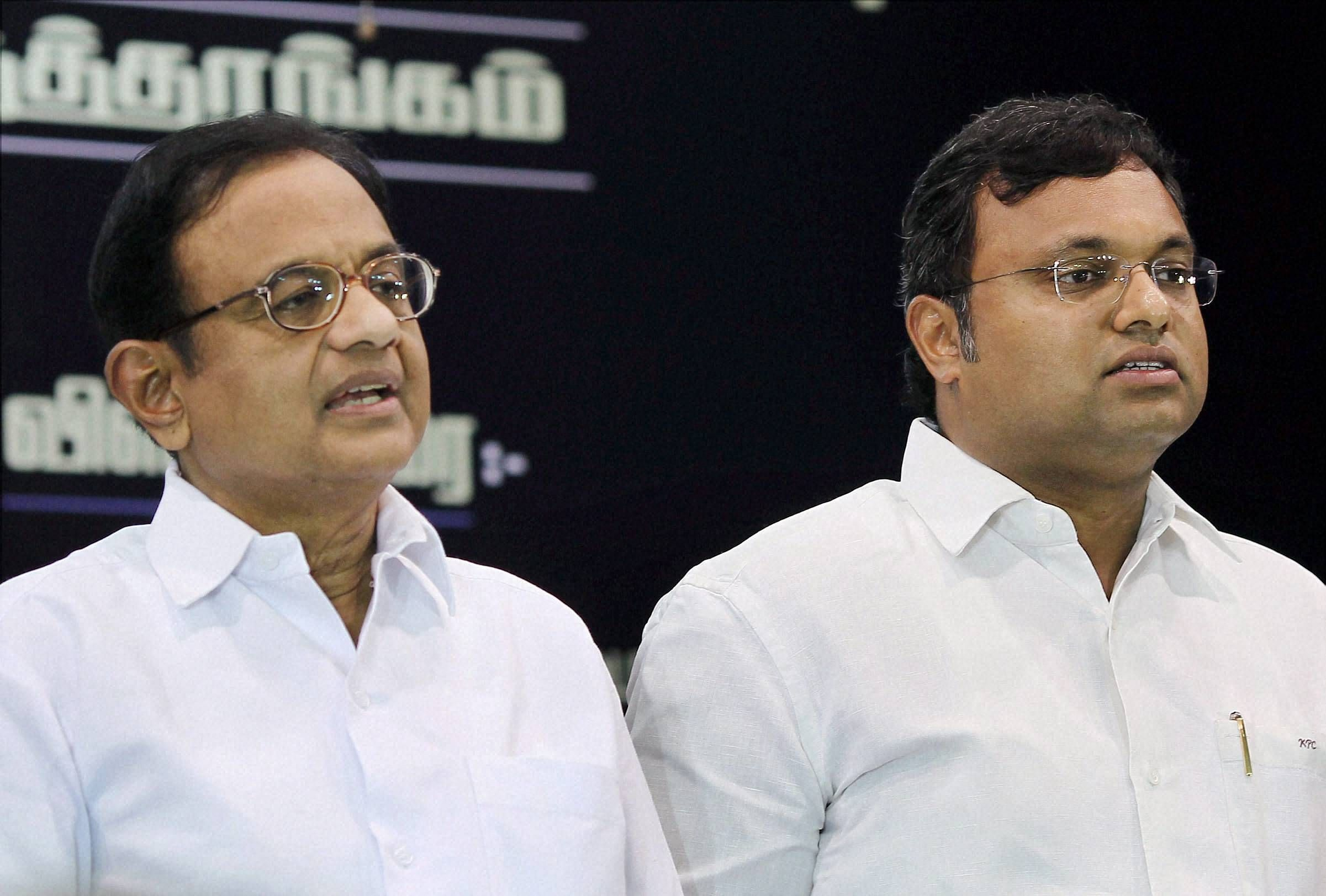 ED slaps Karti with FEMA notice