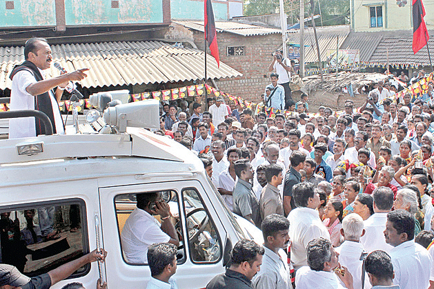Vaiko-campaigning
