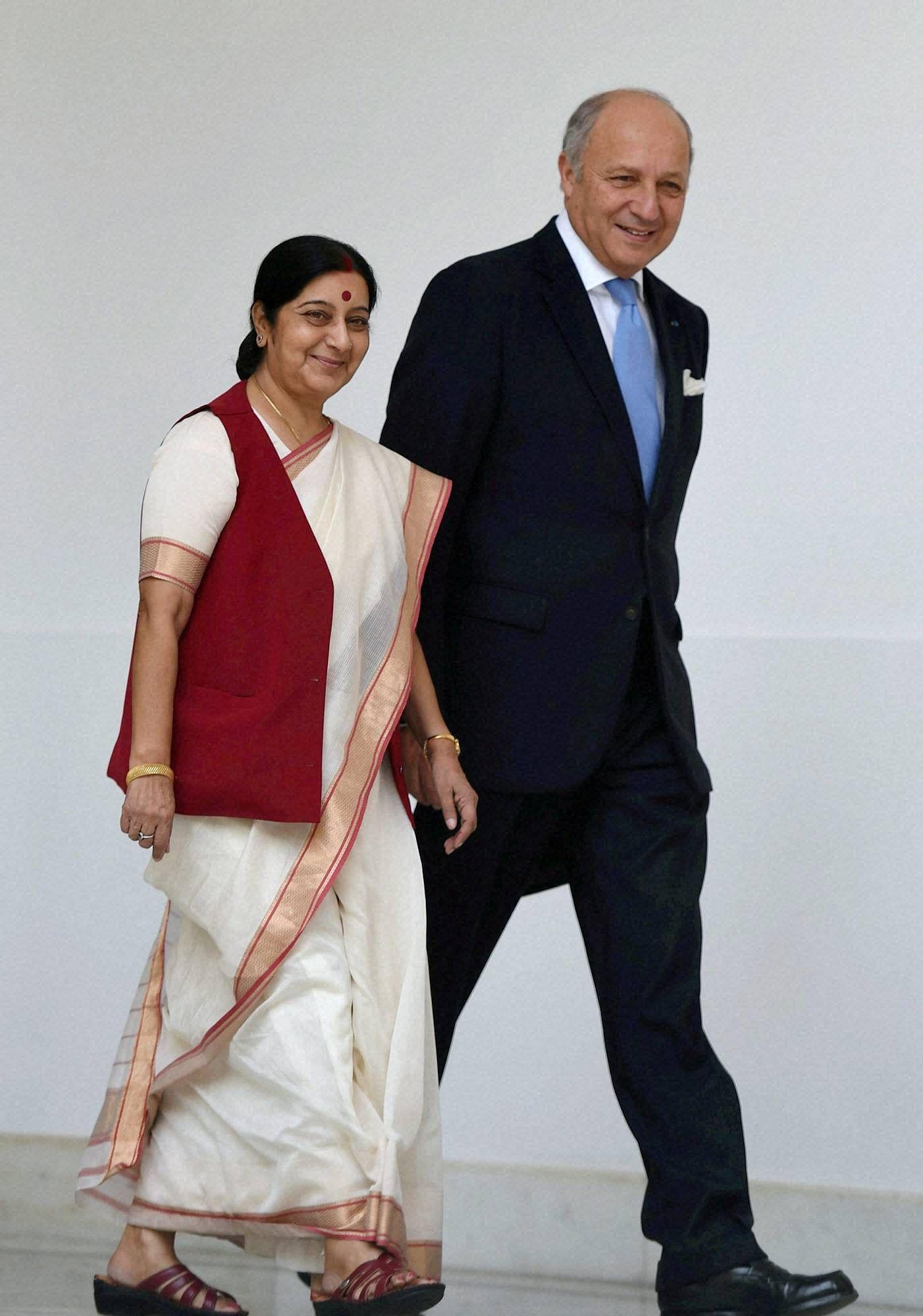 SushmaSwarajFabius_PTI