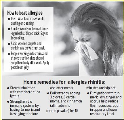 Achoo! Do you See no Respite from Sneezing?- The New Indian Express