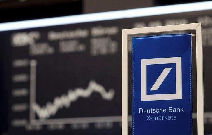 Deutsche Bank falls after no deal reached with DoJ