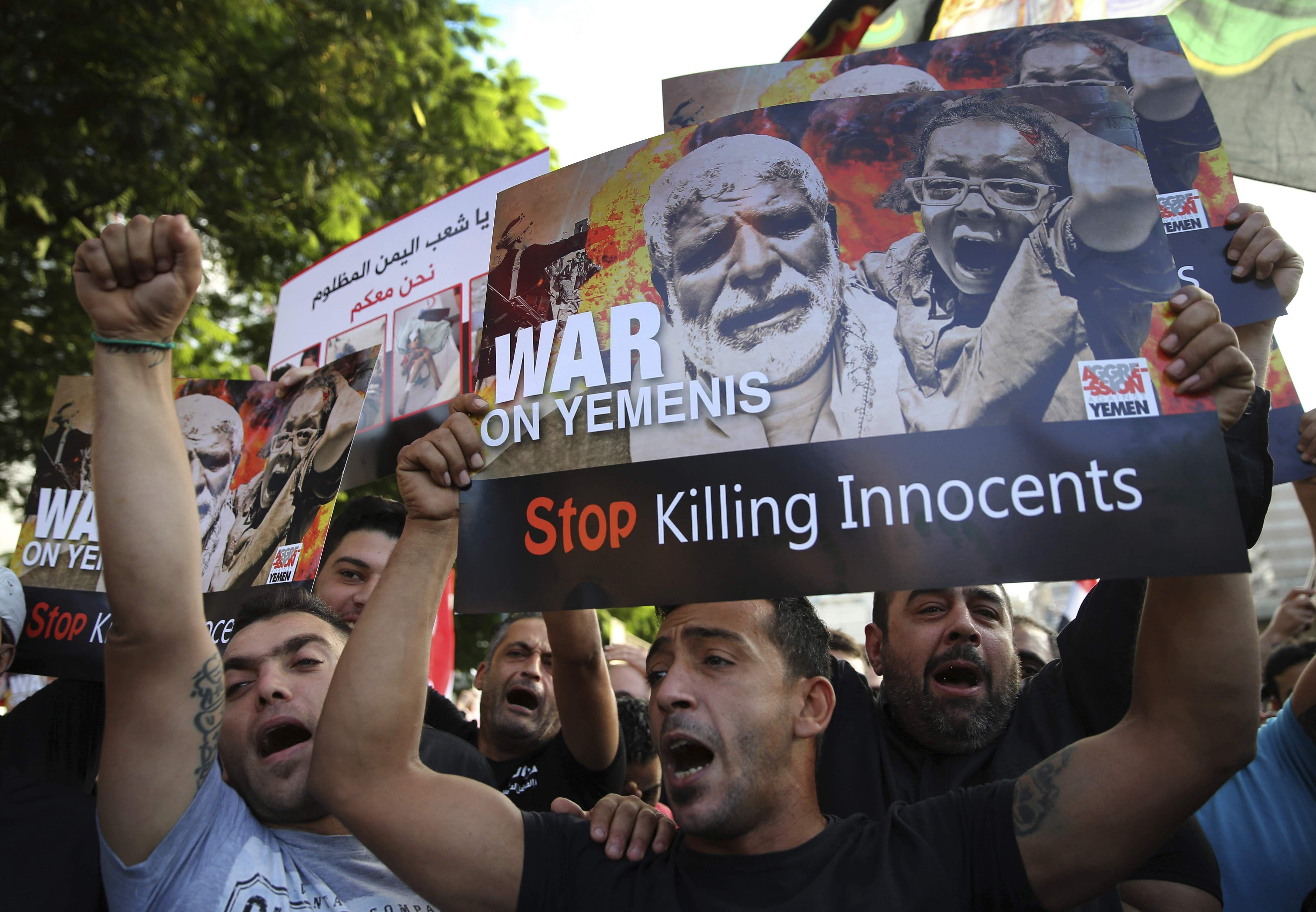 U.S. lawmaker urges Saudi arms sales halt, cites possible Yemen 'war crimes'