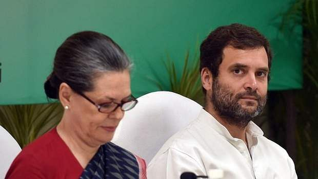 Image result for Sonia, Rahul express grief