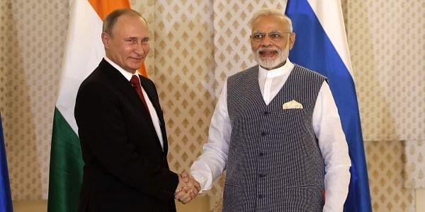 Modi_Putin_BRICS_Goa_AP