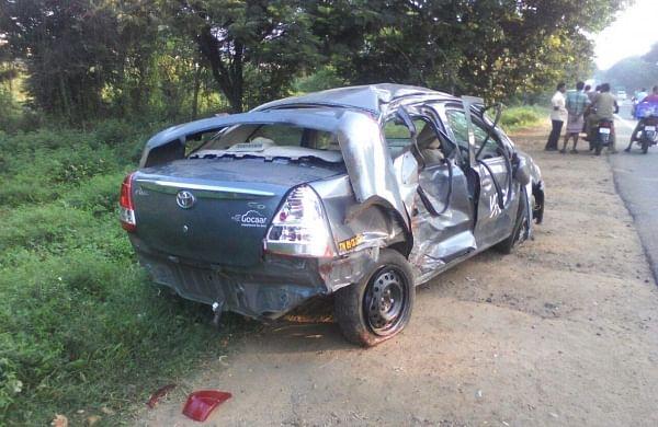 Car Accident Near Vellore