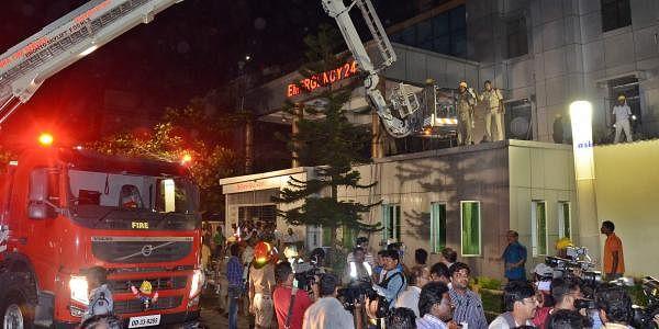 Odisha SUM Hospital fire